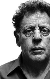Philip Glass. Photograph: Steve Pyke