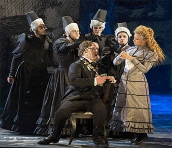 Benvenuto Cellini, English National Opera, June 2014. Photograph: Richard Hubert Smith