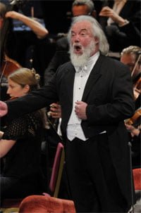 Sir John Tomlinson as Arkel in Debussy's Pelléas et Mélisande at the BBC Proms 2012. Photograph: BBC/Chris Christodoulou