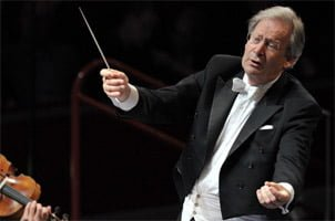 Sir John Eliot Gardiner conducts Debussy's Pelléas et Mélisande at the BBC Proms 2012. Photograph: BBC/Chris Christodoulou