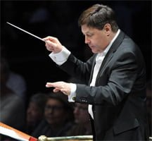Guy Barker conducts The Spirit of Django at the BBC Proms. Photograph: BBC/Chris Christodoulou