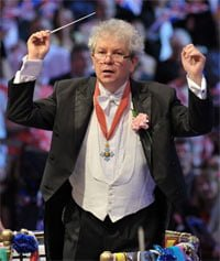 Jiří Bělohlávek at the Last Night of the Proms 2012. Photograph: BBC/Chris Christodoulou