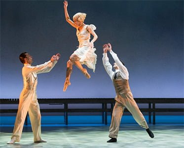 The Great Gatsby, Northern Ballet. Photograph: Bill Cooper