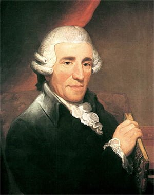 Joseph Haydn (1732-1809) by Thomas Hardy, 1792