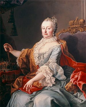 Empress Maria Theresia (1717-80) in 1759 by Martin van Meytens