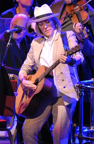 Cerys Matthews performs at the BBC Proms. Photograph: BBC/Chris Christodoulou