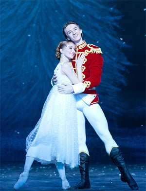 The Nutcracker, English National Ballet. Photograph: Caroline Holden