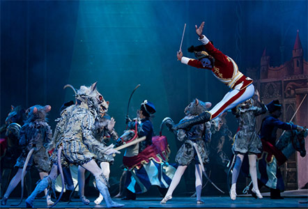 The Nutcracker, English National Ballet. Photograph: Catherine Ashmore