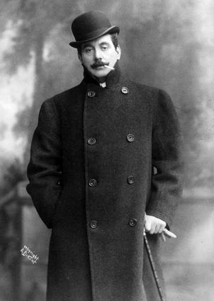 Puccini photographed in April 1908