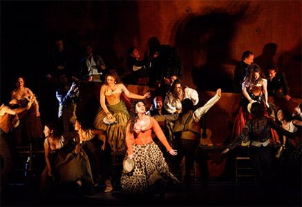 Carmen, The Royal Opera. Photograph: Catherine Ashmore