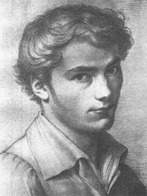 A young Franz Peter Schubert