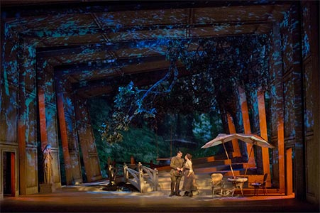 A Scene from Massenet's Werther. Photograph: Ken Howard / Metropolitan Opera