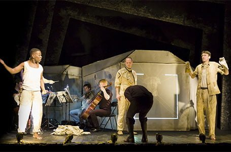 In the Penal Colony by Shadwell Opera at Arts Theatre. Photograph: Nick Rutter
