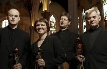 Salamon String Quartet. Photograph: Graham Salter