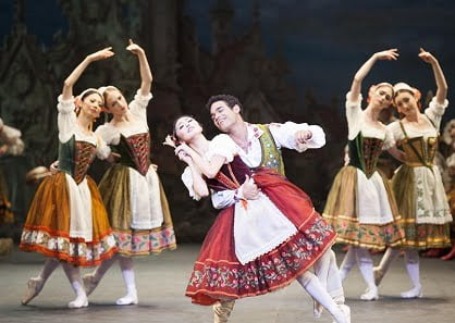 Coppélia, English National Ballet. Photograph: David Jensen
