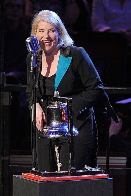 Clare Teal at the Battle of the Bands at BBC Proms 2014. Photograph: Chris Christodoulou