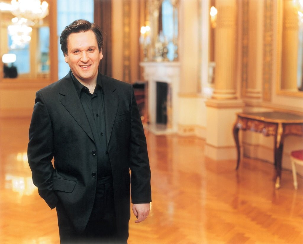 Sir Antonio Pappano. Photograph: Sheila Rock licensed to EMI Classics