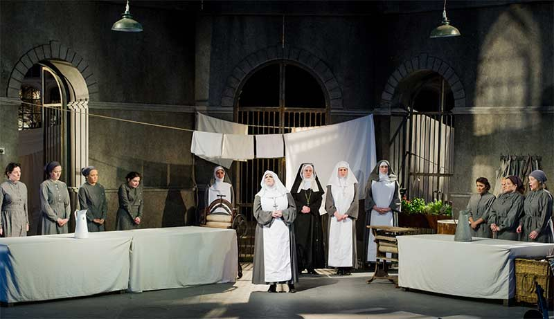 The cast of Suor Angelica at Opera Holland ParkPhotograph: Robert Workman