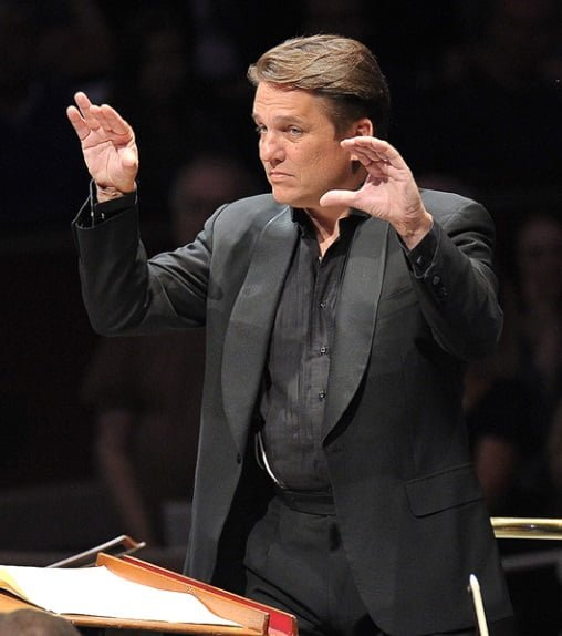 Keith Lockhart conducts the BBC Concert Orchestra at the BBC Proms on Sunday 6 SeptemberPhotograph: BBC/Chris Christodoulou