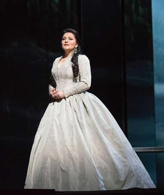 Hibla Gerzmava as Desdemona in The Metropolitan Opera's production of Verdi's OtelloPhotograph: Jonathan Tichler