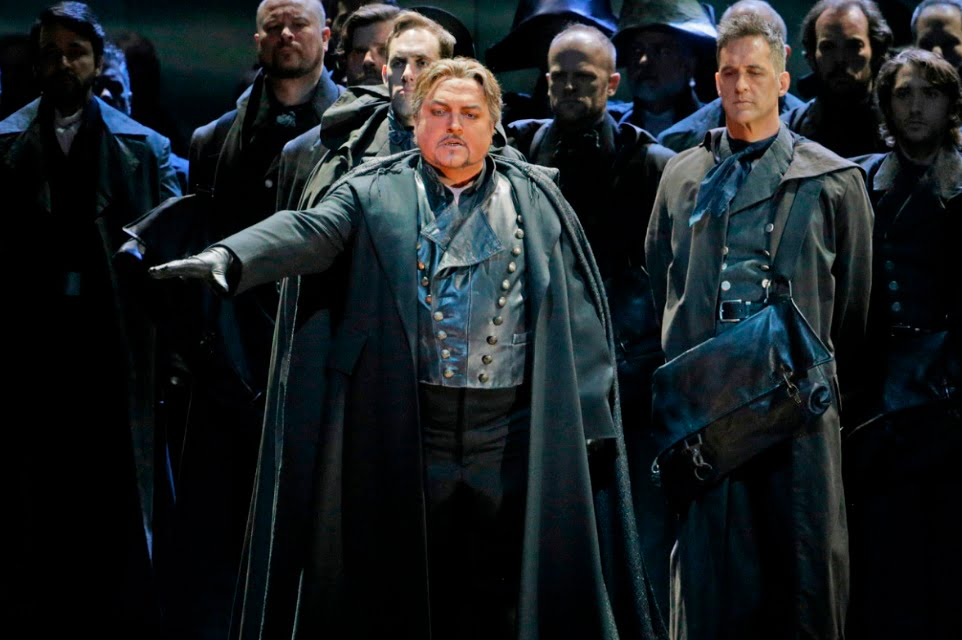 Francesco Anile as Otello in The Metropolitan Opera's production of Verdi's OtelloPhotograph: Ken Howard