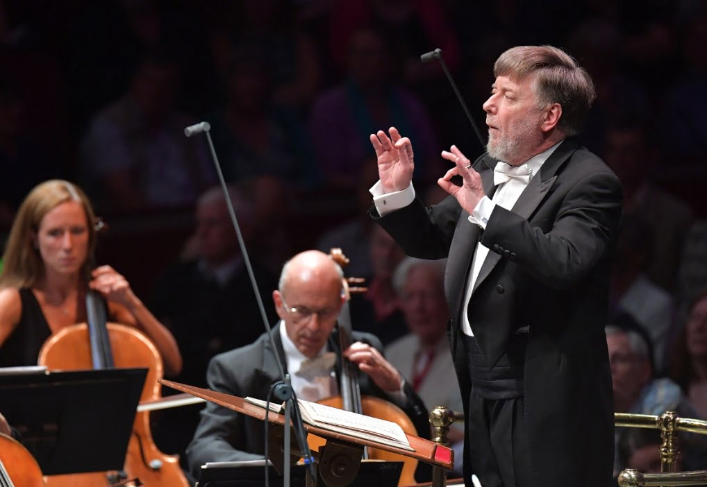The BBC Symphony Orchestra & Chorus conducted by Sir Andrew Davis at the BBC Proms on Tuesday 26 JulyPhotograph: BBC/Chris Christodoulou