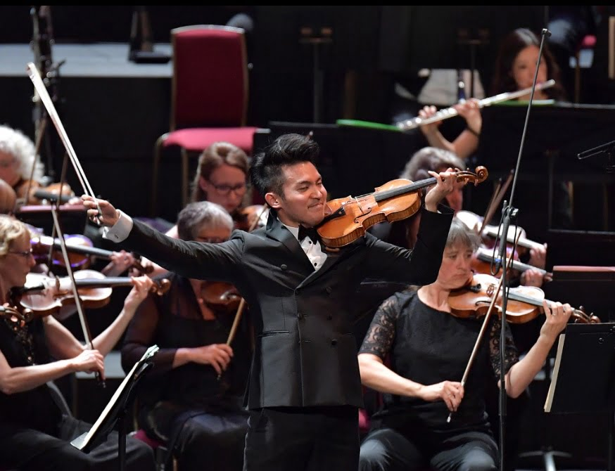 Violinist Ray Chen makes his BBC Proms debut with Bruch's Violin Concerto No. 1 at the BBC Proms on Tuesday 26 JulyPhotograph: BBC/Chris Christodoulou