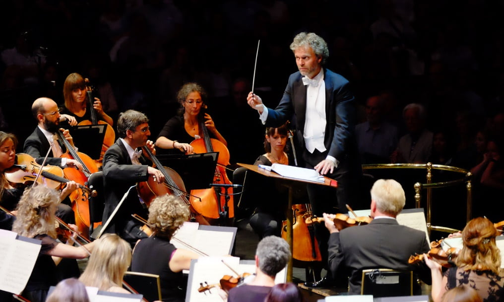 Thomas Søndergård conducts the BBC National Orchestra of Wales at the BBC Proms 2016Photograph: BBC/Mark Allan