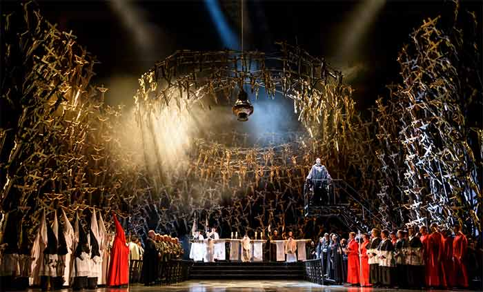 The Royal Opera's production of Bellini's NormaPhotograph: Bill Cooper