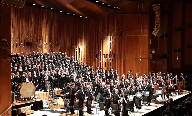 London Symphony Chorus & Orcherstra at Barbican Hall on 18 September 2016Photograph: Andra East