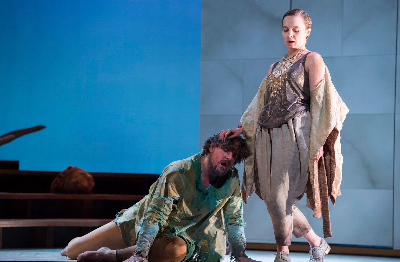 English Touring Opera's production of Monteverdi's Il ritorno d'Ulisse in patriaPhotograph: Richard Hubert Smith