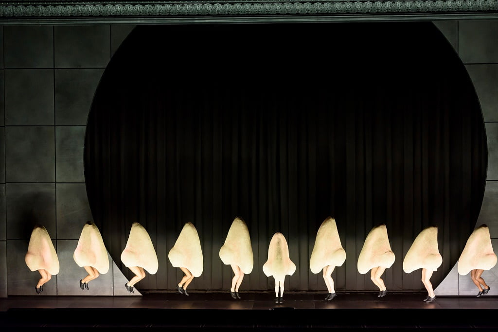 The Royal Opera's production of Shostakovich's The NosePhotograph: Bill Cooper
