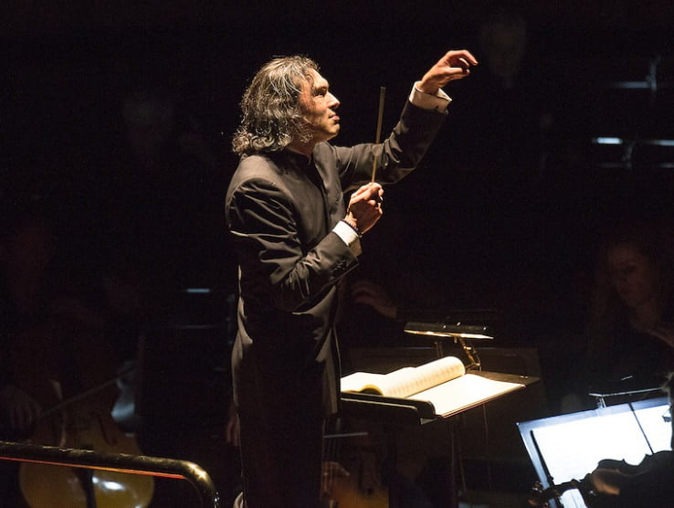 Vladimir Jurowski conducts London Philharmonic Orchestra in FidelioPhotograph: Simon Jay Price