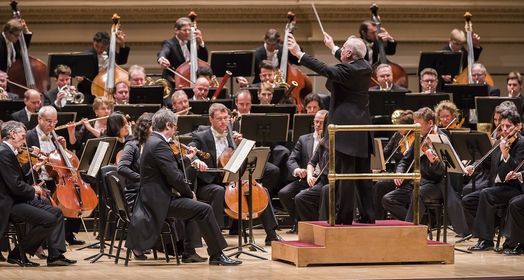 Daniel Barenboim conducts the Staatskapelle Berlin in Bruckner at Carnegie HallPhotograph: Chris Lee