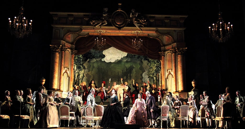 The Royal Opera – David McVicar's production of Cilea's Adriana LecouvreurPhotograph: Catherine Ashmore