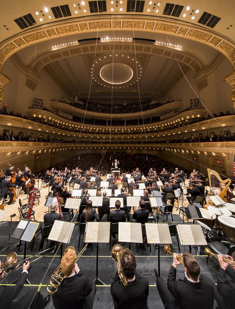 Vienna Philharmonic Orchestra/Franz Welser-Möst at Carnegie HallPhotograph: Chris Lee