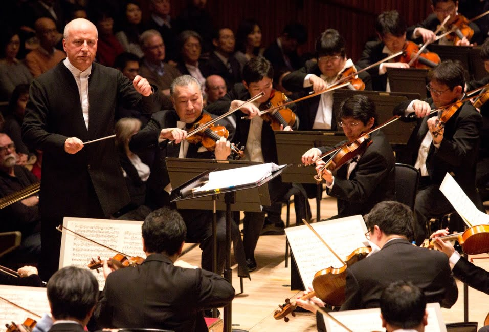 Paavo Järvi conducts the NHK Symphony Orchestra at Royal Festival Hall on 6th March 2017Photograph: Belinda Lawley