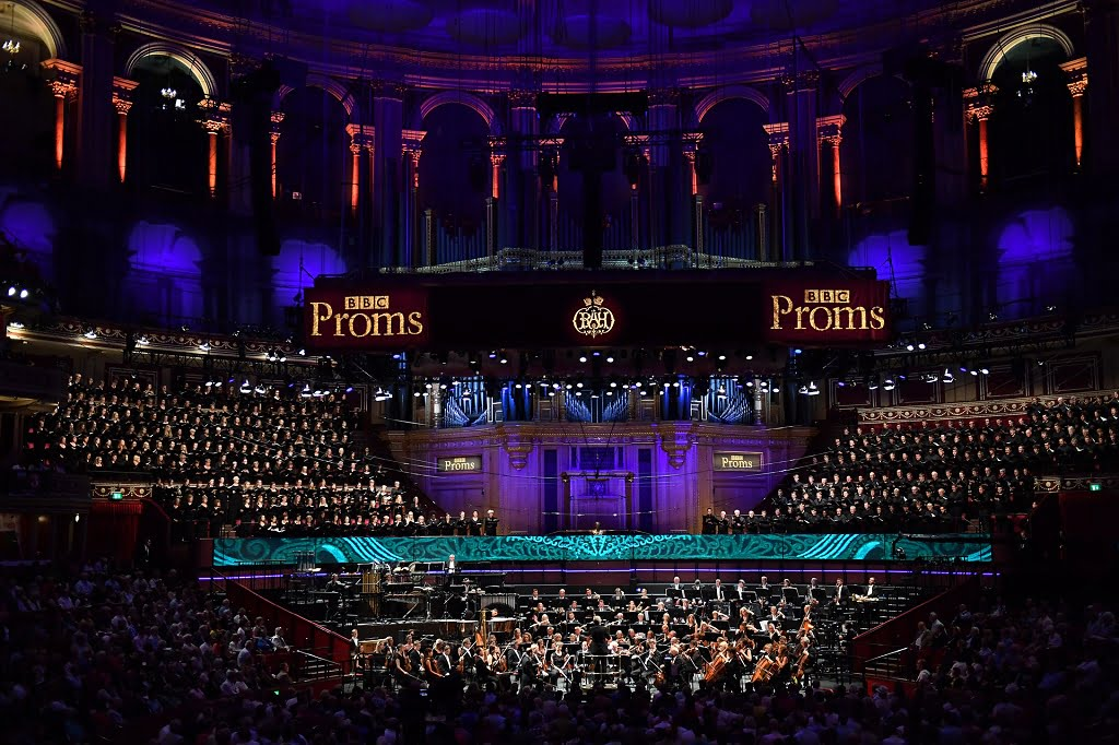 Edward Gardner conducts the BBC Symphony Orchestra, BBC Symphony Chorus and the BBC Proms Youth Choir in John Adams' Harmonium at the First Night of the BBC Proms 2017Photograph: BBC/Chris Christodoulou