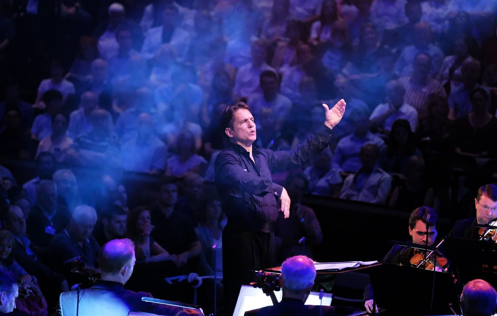 Keith Lockhart conducts the BBC Concert Orchestra at the 2017 BBC Proms at the Royal Albert HallPhotograph: Mark Allan/BBC