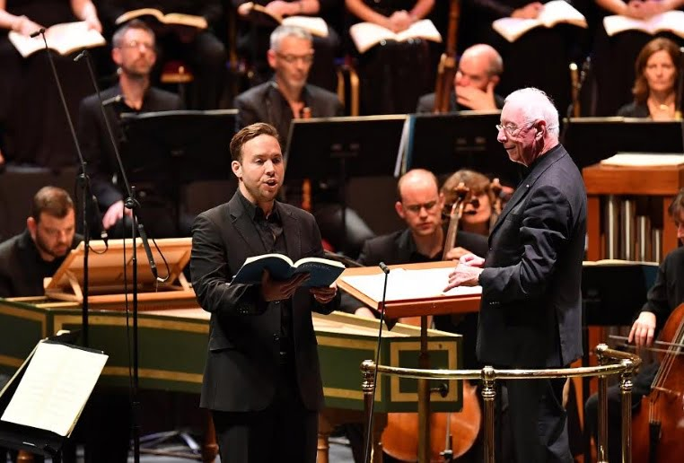 Counter-tenor Christopher Lowrey makes his BBC Proms debut in a performance of Handel's Israel in Egypt with the Choir and Orchestra of the Age of Enlightenment, conducted by William ChristiePhotograph: Chris Christodoulou/BBC
