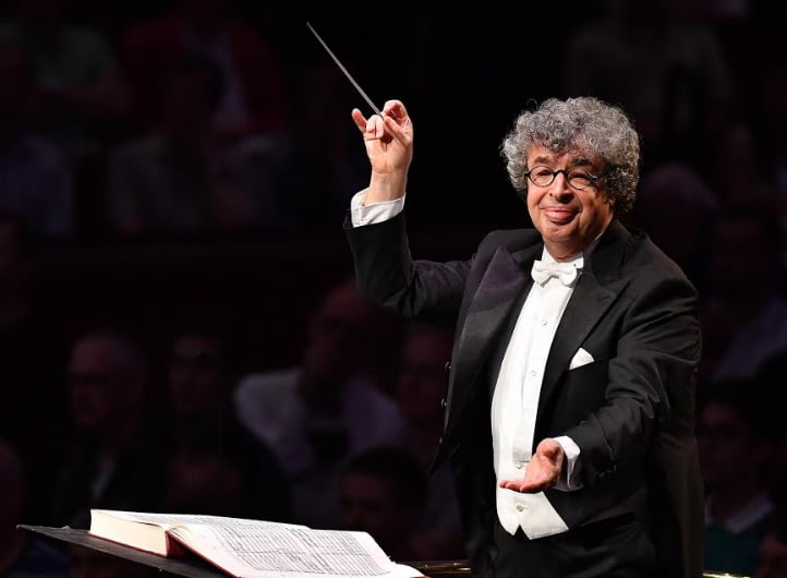 Semyon Bychkov conducts the BBC Symphony Orchestra, BBC Singers, Tiffin Boys' Choir, Slovak Philharmonic Choir and Schola Cantorum of the Cardinal Vaughan Memorial School in a performance of Mussorgsky's Khovanshchina at the BBC Proms at the Royal Albert Hall on Sunday 6 AugustPhotograph: Chris Christodoulou/BBC