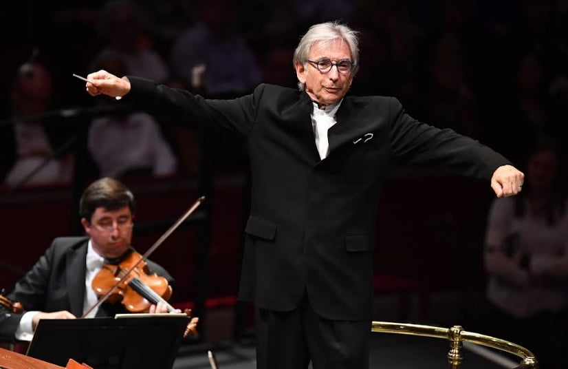 Michael Tilson Thomas conducts the Vienna Philharmonic at the BBC Proms 2017Photograph: Chris Christodoulou / BBC