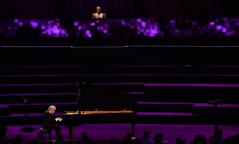 Sir András Schiff performs J. S. Bach's The Well-Tempered Clavier – Book 1 at the BBC PromsPhotograph: Mark Allan / BBC