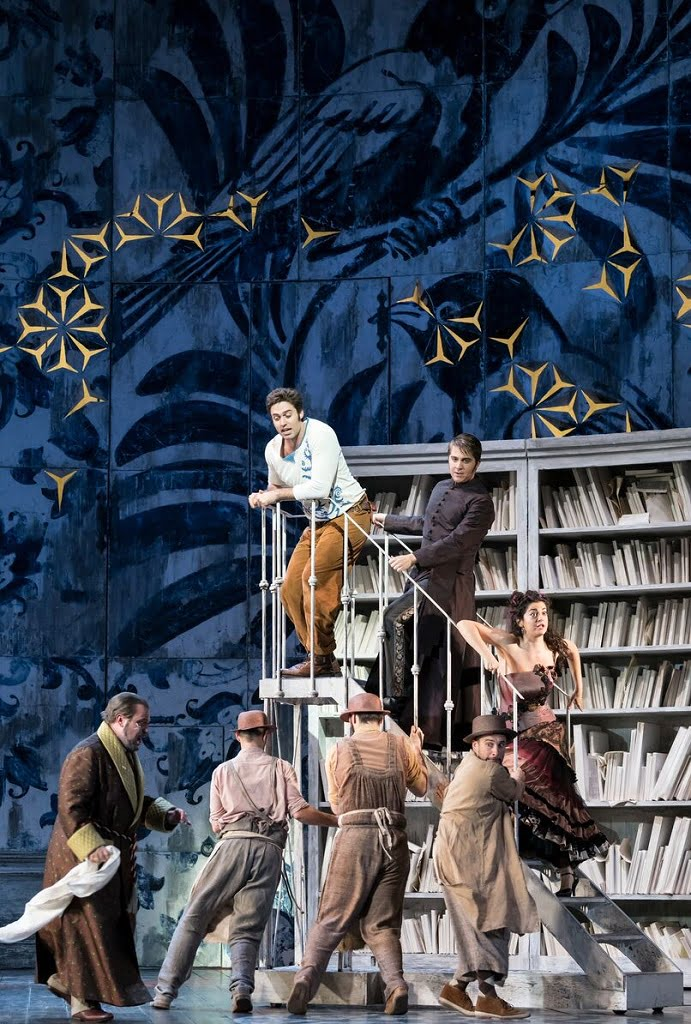 Glyndebourne Tour 2017 – Annabel Arden's production of Rossini's The Barber of SevillePhotograph: Bill Cooper