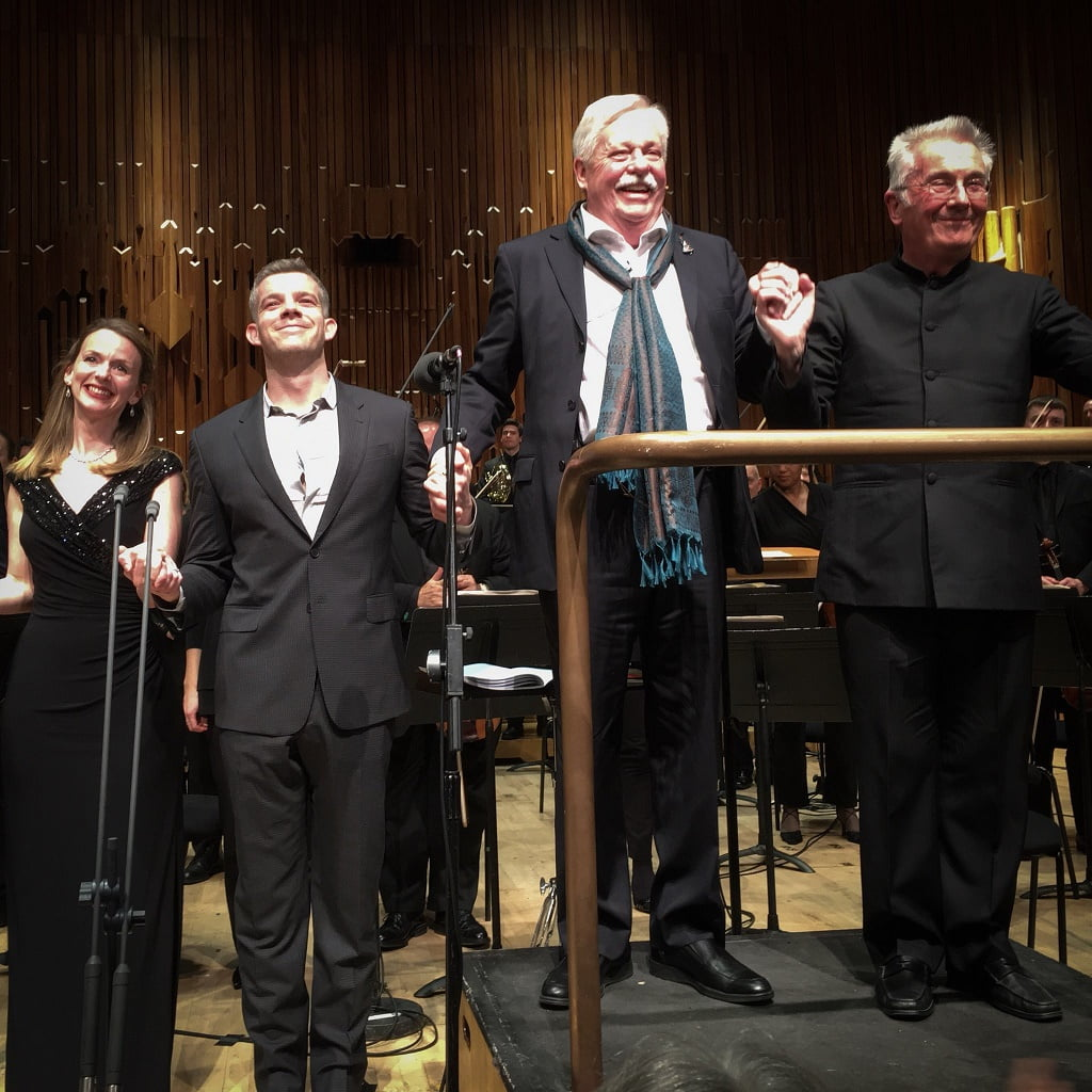 An Evening with Armistead Maupin and the BBC Symphony Orchestra, Jamie Parker, Sarah Tynan, Russell Tovey & David ParryPhotograph: twitter @charlottebarnes