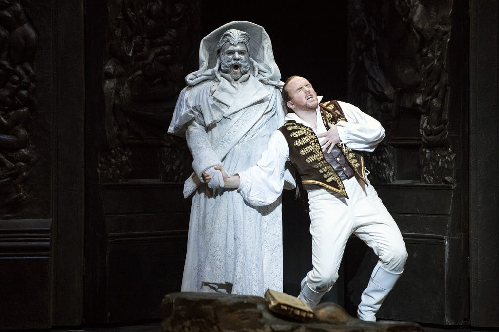 Welsh National Opera's production of Mozart's Don GiovanniGavan Ring (Don Giovanni)Photograph: Richard Hubert Smith