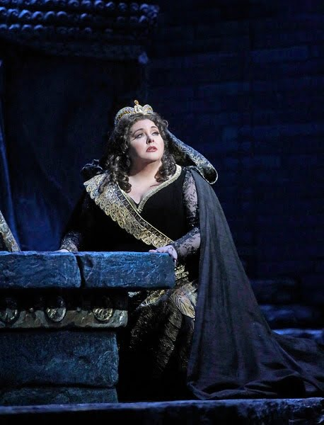 Rossini's Semiramide with Angela Meade in the title rolePhotograph: Ken Howard / The Metropolitan Opera