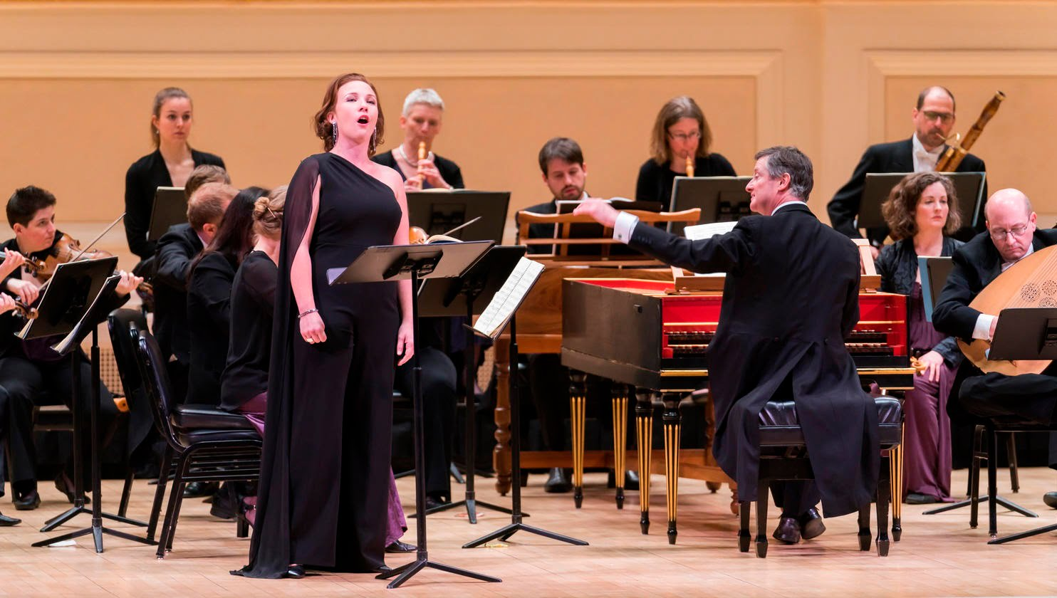 Handel's Rinaldo at Carnegie Hall – Harry Bicket directs The English Concert with Iestyn Davies, Joélle Harvey, Jane Archibald & Sasha CookePhotograph: Chris Lee