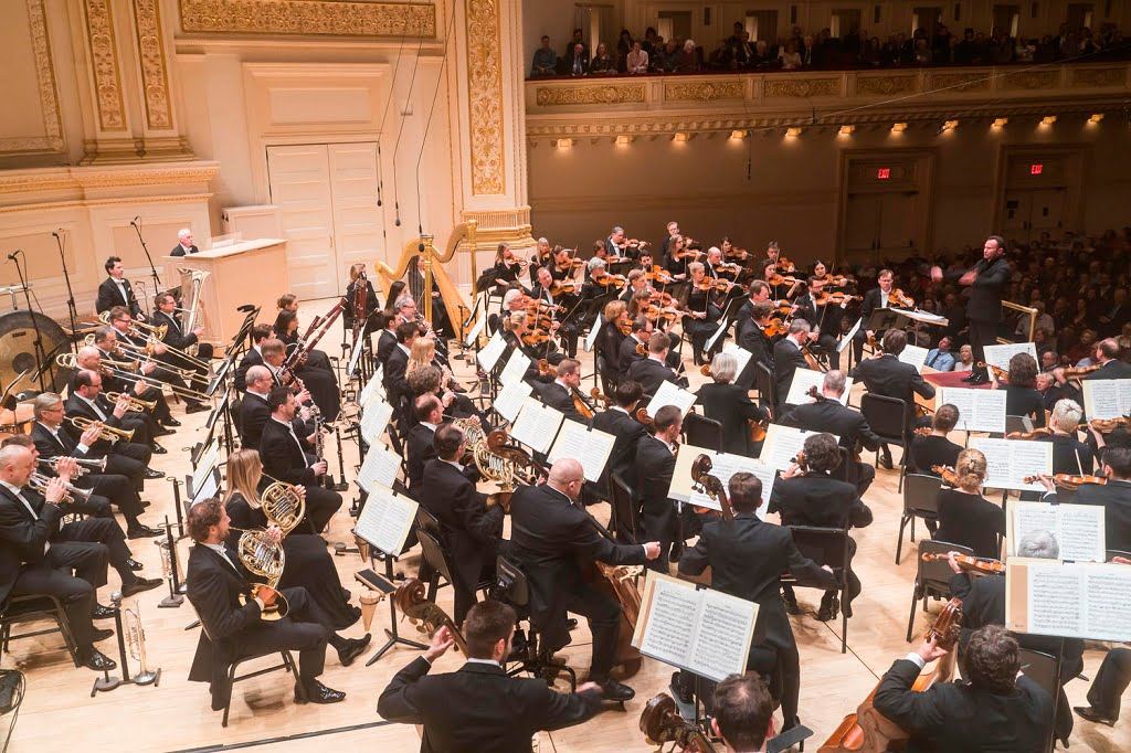 Bayerisches Staatsorchester & Kirill Petrenko perform Tchaikovsky's Manfred Symphony at Carnegie HallPhotograph: Chris Lee