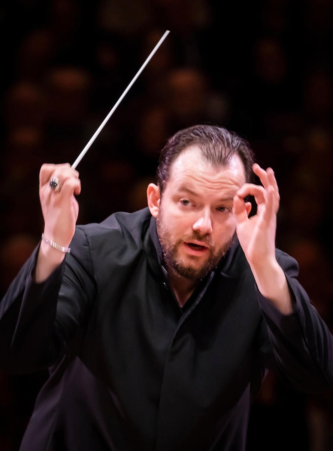 Andris Nelsons conducts the Boston Symphony Orchestra at Carnegie HallPhotograph: Chris Lee